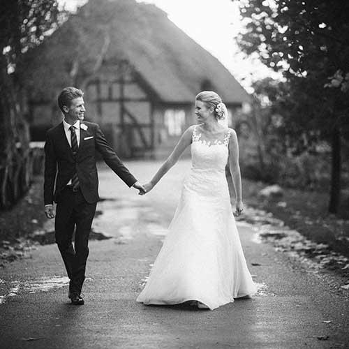 Billeder af bryllupsbilleder