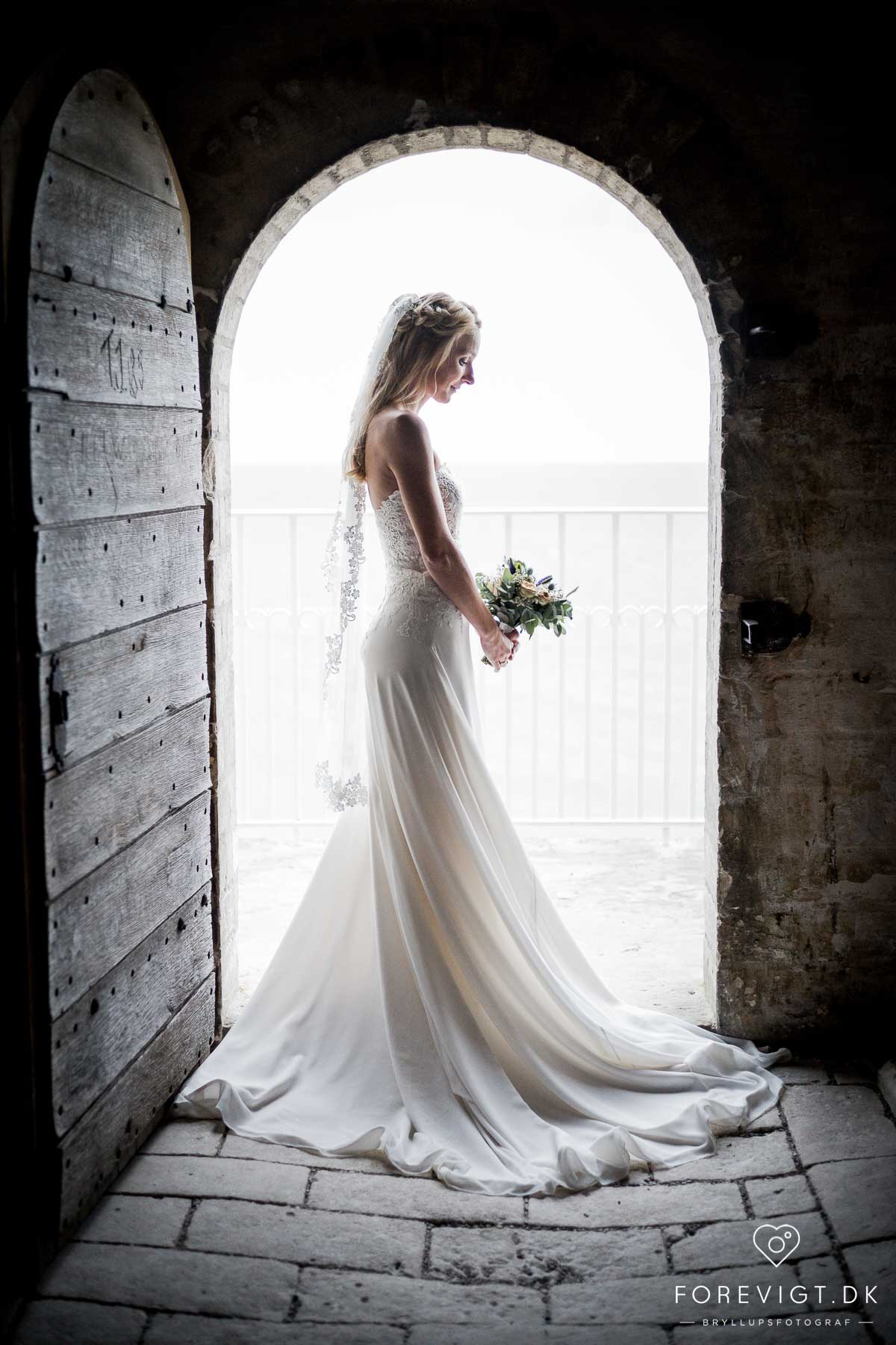 Unik bryllupsfotografi - Sjælland