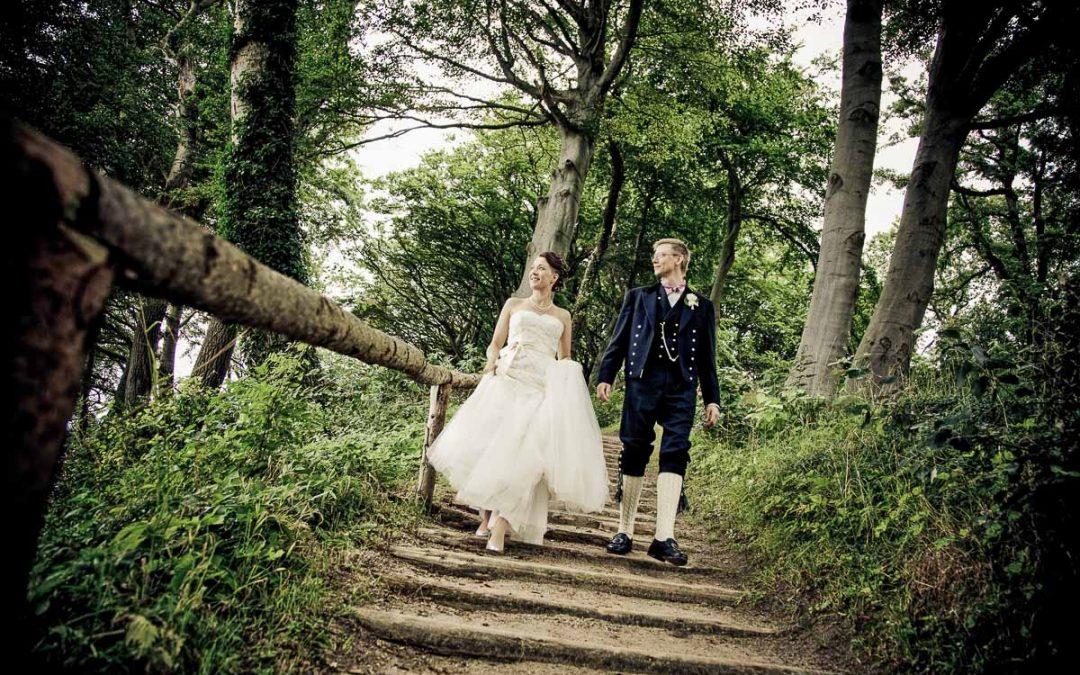 Den professionelle fotograf til bryllupper