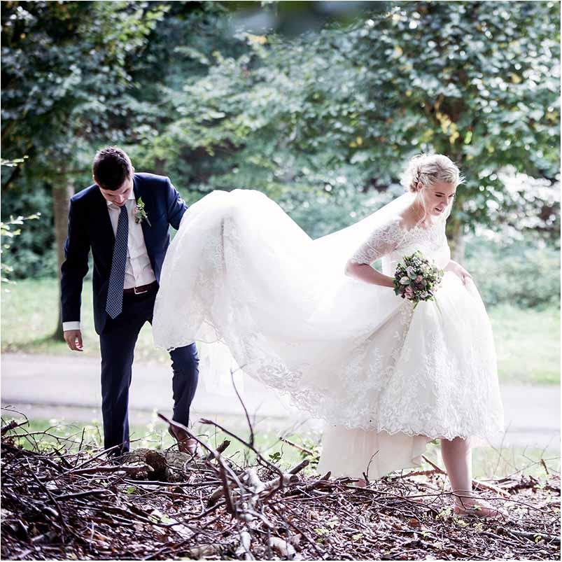 bryllupskager, bryllupskjoler, styling eller andet, du måske føler er uoverskueligt.