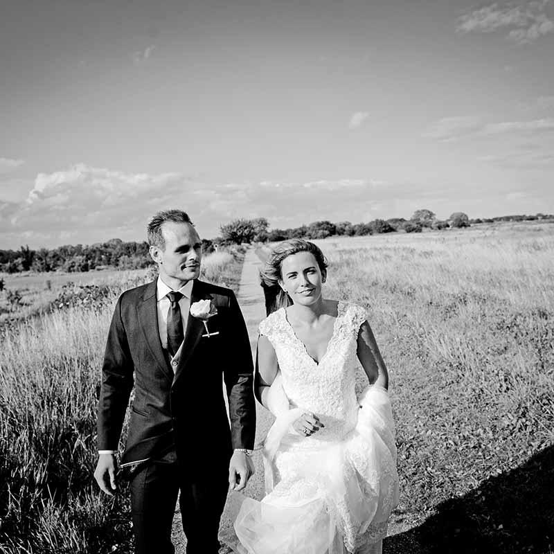 Fotograf med speciale i bryllupsfotografering